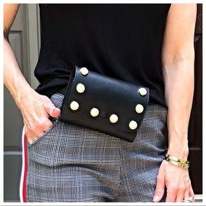 Handbags - Pearl detail belted bag